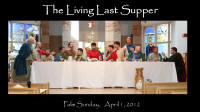 Living Last Supper 2012 Cast Bios